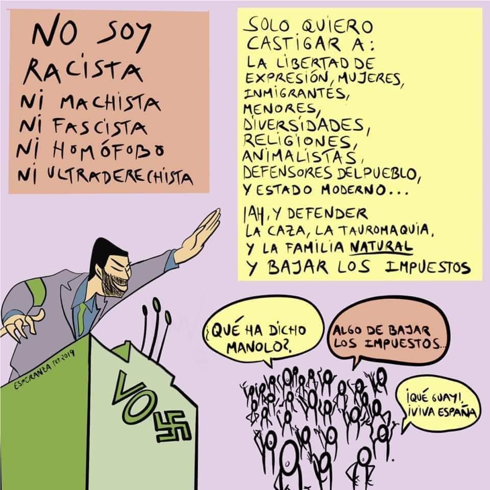 La reflexión del profesor andaluz sobre sus alumnos votantes de VOX que está arrasando en las redes 1