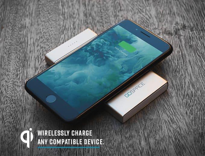 GOSPACE: el dispositivo de carga y almacenamiento Qi que puede actuar como un punto de acceso wifi 5G 6