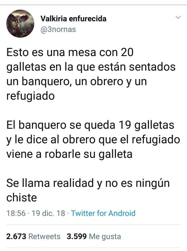 La reflexión del profesor andaluz sobre sus alumnos votantes de VOX que está arrasando en las redes 7