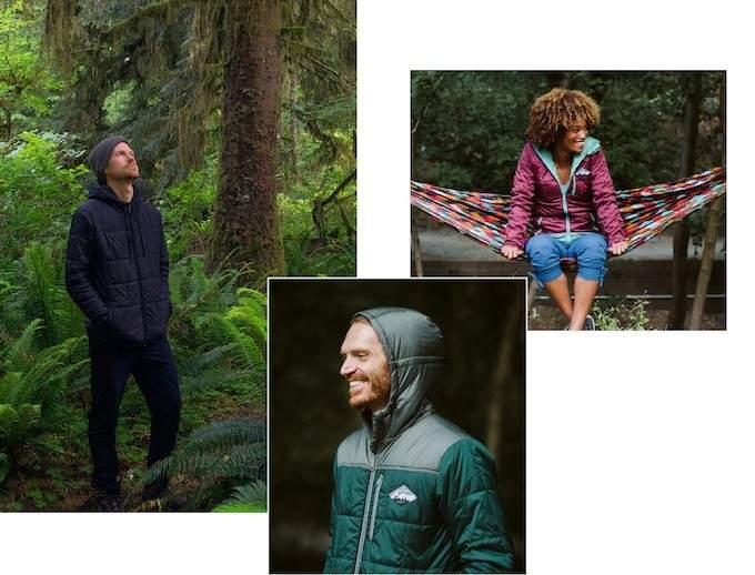 La chaqueta con capucha 2.0 de uso múltiple más ecológica 2