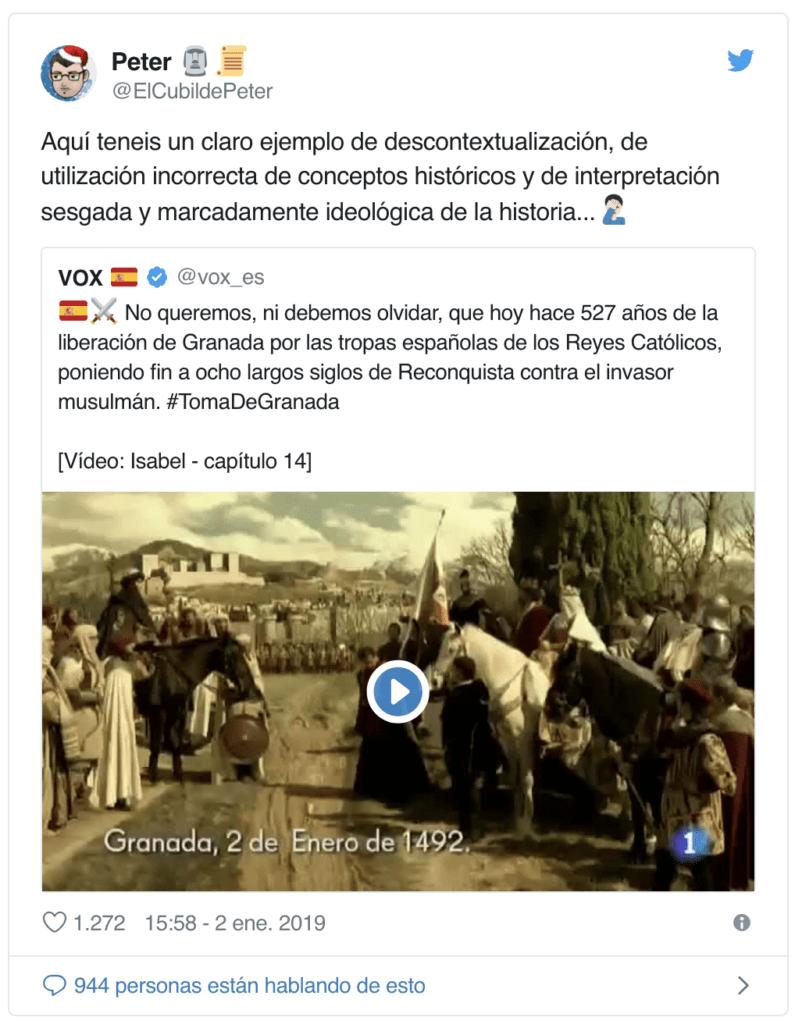 La reflexión del profesor andaluz sobre sus alumnos votantes de VOX que está arrasando en las redes 9