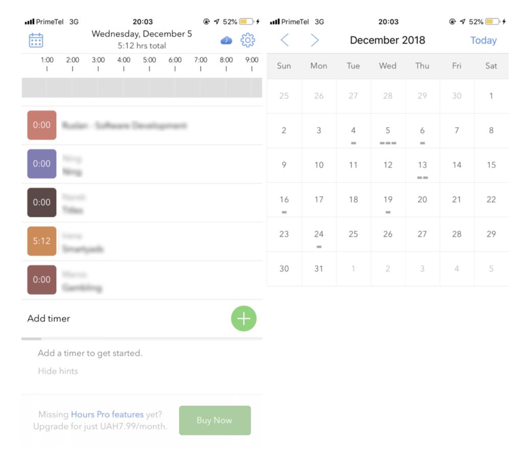 Teletrabajo: 3 aplicaciones gratuitas de iPhone para controlar el tiempo 3