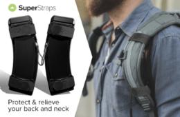El aliado perfecto de tu espalda para llevar una mochila: SuperStrap 12