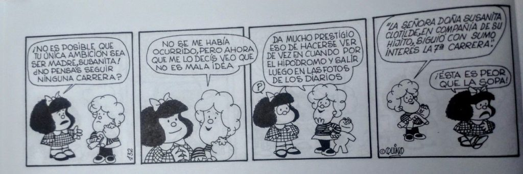 Publican una edición especial con las mejores tiras feministas de Mafalda 3
