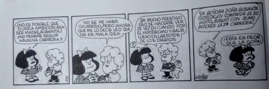 Las 10 mejores frases feministas de Mafalda 1
