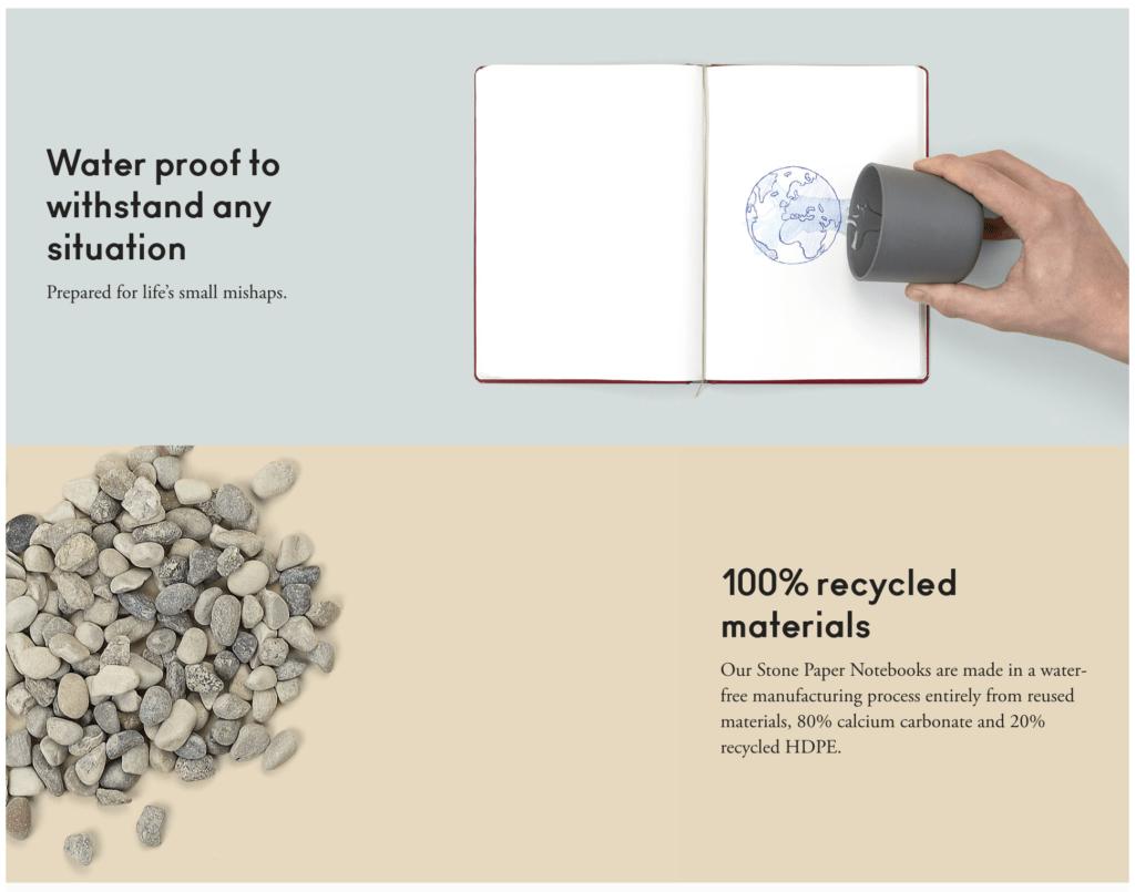Agood: las maravillosas libretas de papel mineral  buenas para ti y para el planeta 3