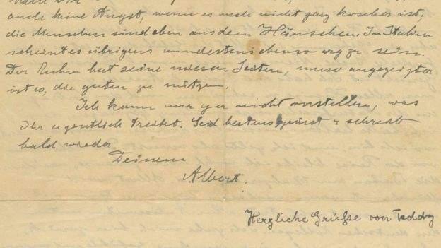 Se revela la visión de Dios de Einstein en una carta ¡subastada por 2,9 millones de dólares! 3
