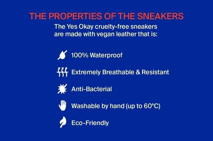 Unas zapatillas con un diseño cargado de optimismo y amor: libre de crueldad animal... y humana! 5