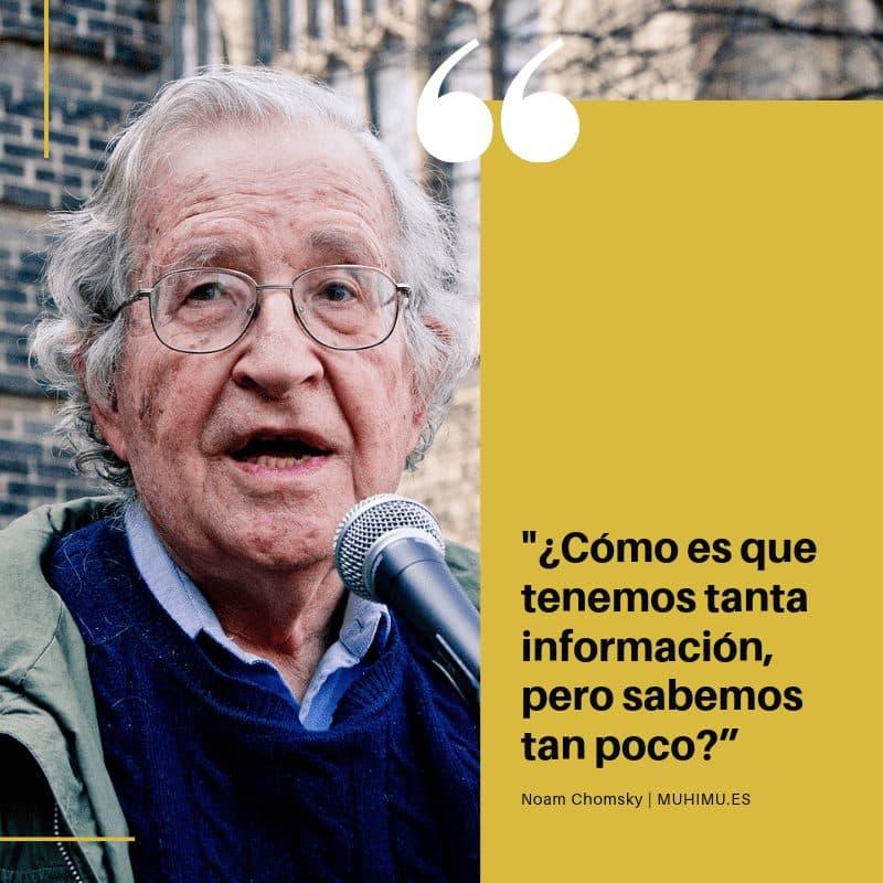 """Ellos entendieron que era más sencillo crear consumidores que someter a esclavos"" Chomsky 3"