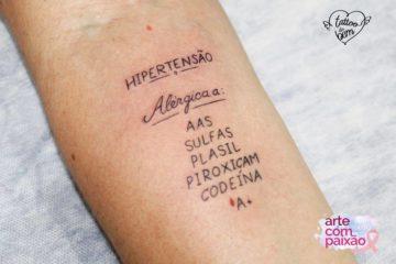 ¿Has oído hablar de tatuajes del bien? Hacen alertas importantes sobre la salud y pueden salvar vidas! 20