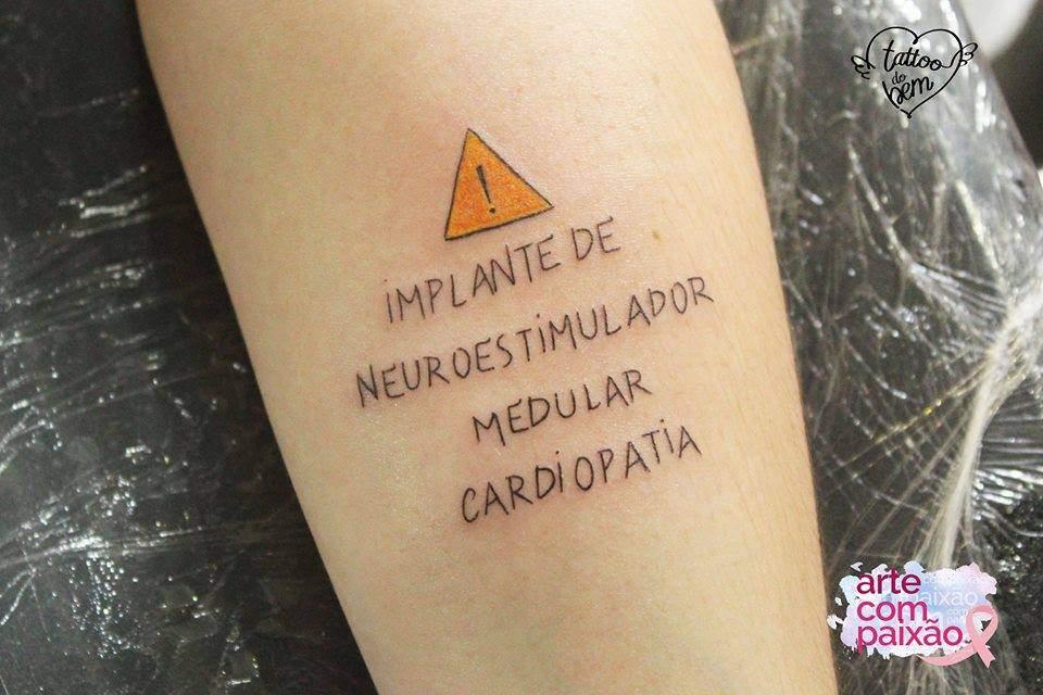 ¿Has oído hablar de tatuajes del bien? Hacen alertas importantes sobre la salud y pueden salvar vidas! 1