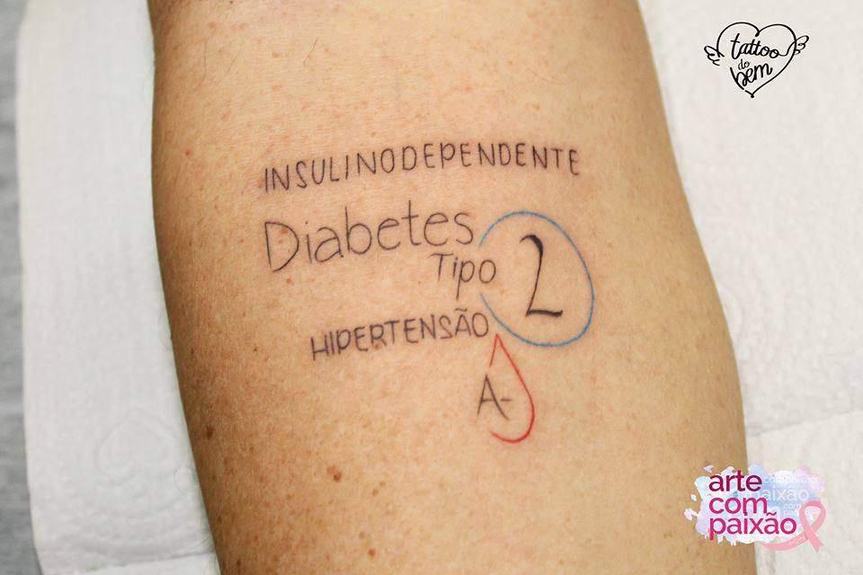 ¿Has oído hablar de tatuajes del bien? Hacen alertas importantes sobre la salud y pueden salvar vidas! 10