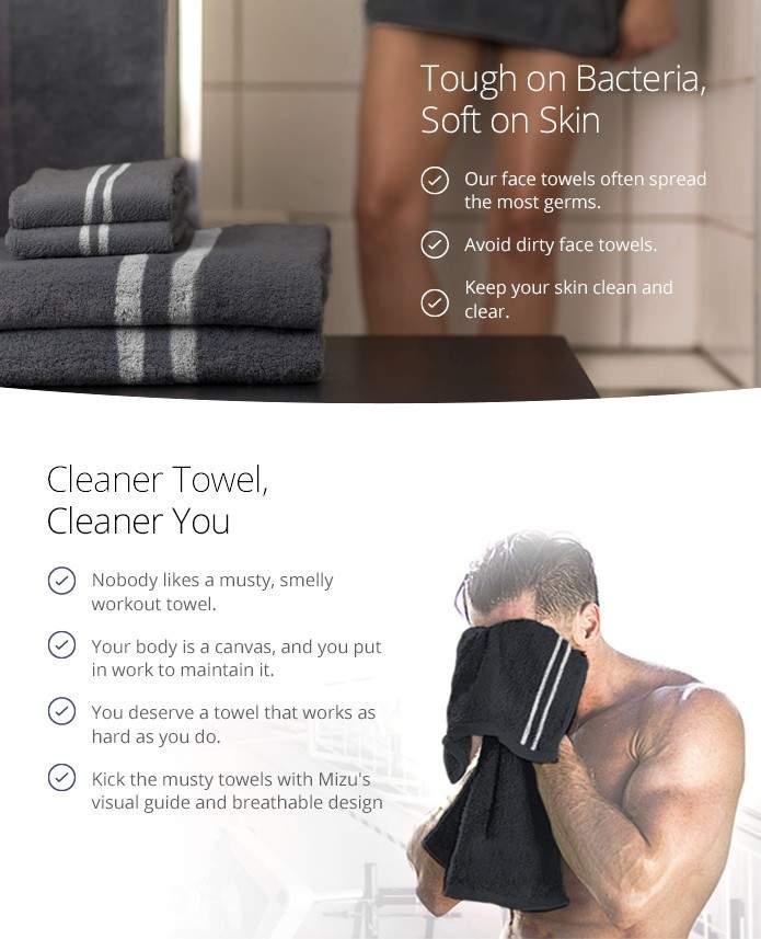 La toalla inteligente con autolimpieza y detección de impurezas 3