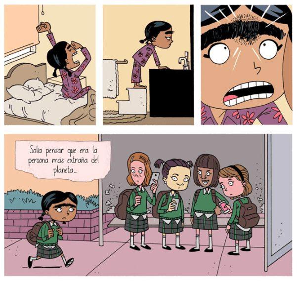 Mini-Comic sobre bullying invita a reflexionar sobre la indefensión de nuestros hijos ante el acoso 2
