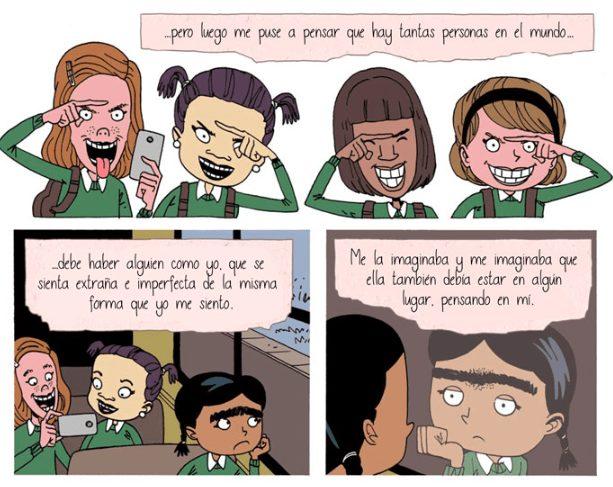 Mini-Comic sobre bullying invita a reflexionar sobre la indefensión de nuestros hijos ante el acoso 3