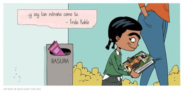 Mini-Comic sobre bullying invita a reflexionar sobre la indefensión de nuestros hijos ante el acoso 9