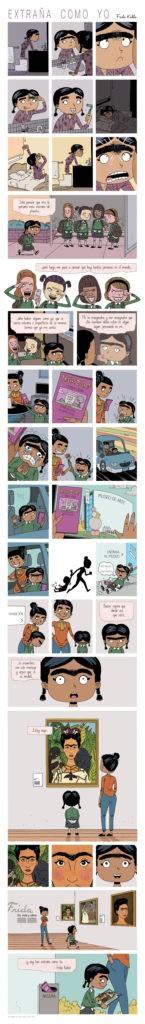 Mini-Comic sobre bullying invita a reflexionar sobre la indefensión de nuestros hijos ante el acoso 12