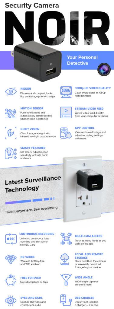 ¿Necesitas vigilar tu hogar o tu empresa? esta cámara de vigilancia invisible te lo pone fácil 3