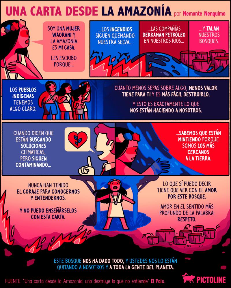 5 razones por las que arde el Amazonas y 5 cosas que puedes hacer para evitarlo (AQUÍ Y AHORA) 1