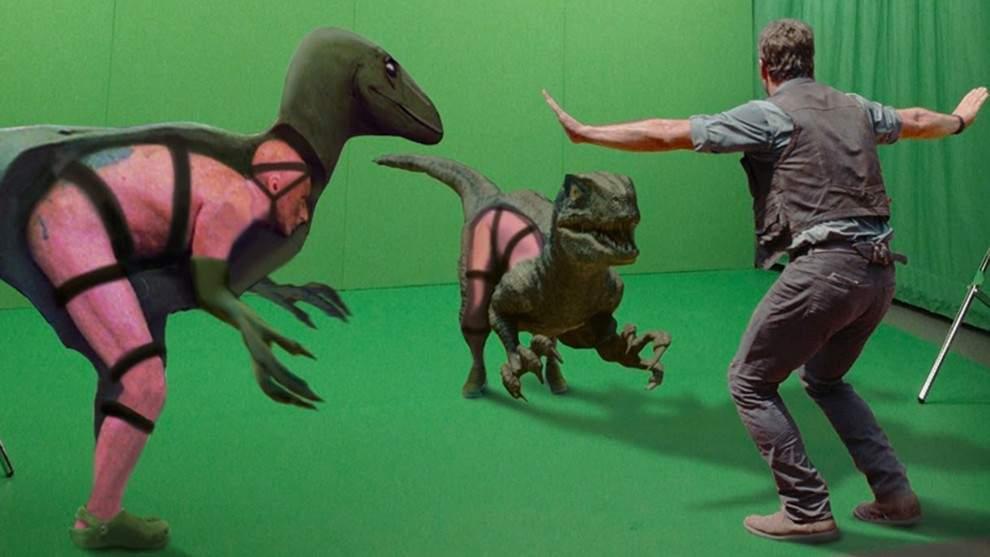Una increíble selección del antes y después de incluir efectos especiales en 10 famosas películas 2