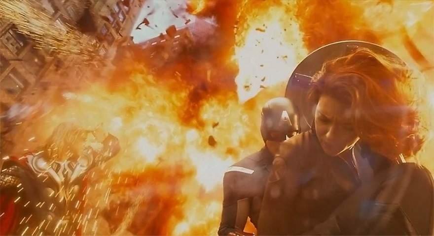 Una increíble selección del antes y después de incluir efectos especiales en 10 famosas películas 20