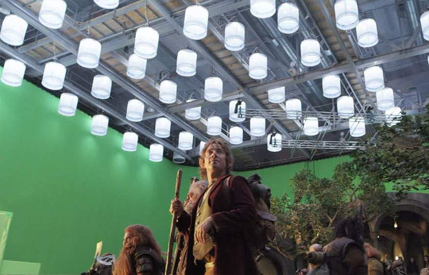 Una increíble selección del antes y después de incluir efectos especiales en 10 famosas películas 37