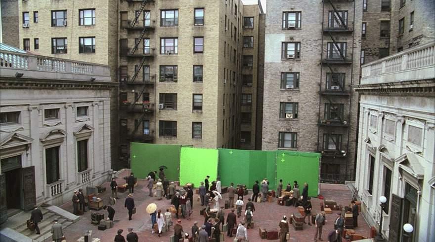 Una increíble selección del antes y después de incluir efectos especiales en 10 famosas películas 33