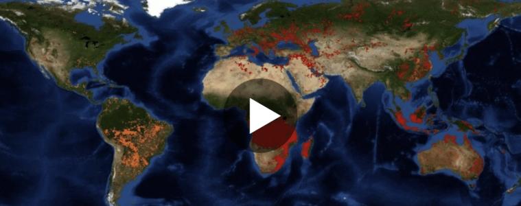 Mapa interactivo de todos los incendios activos, en tiempo real, y que están arrasando el planeta 18