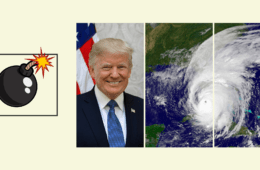 Dicen que Trump propone lanzar bombas nucleares para frenar huracanes, ¿es verdad? 12