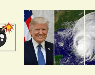 Dicen que Trump propone lanzar bombas nucleares para frenar huracanes, ¿es verdad? 20