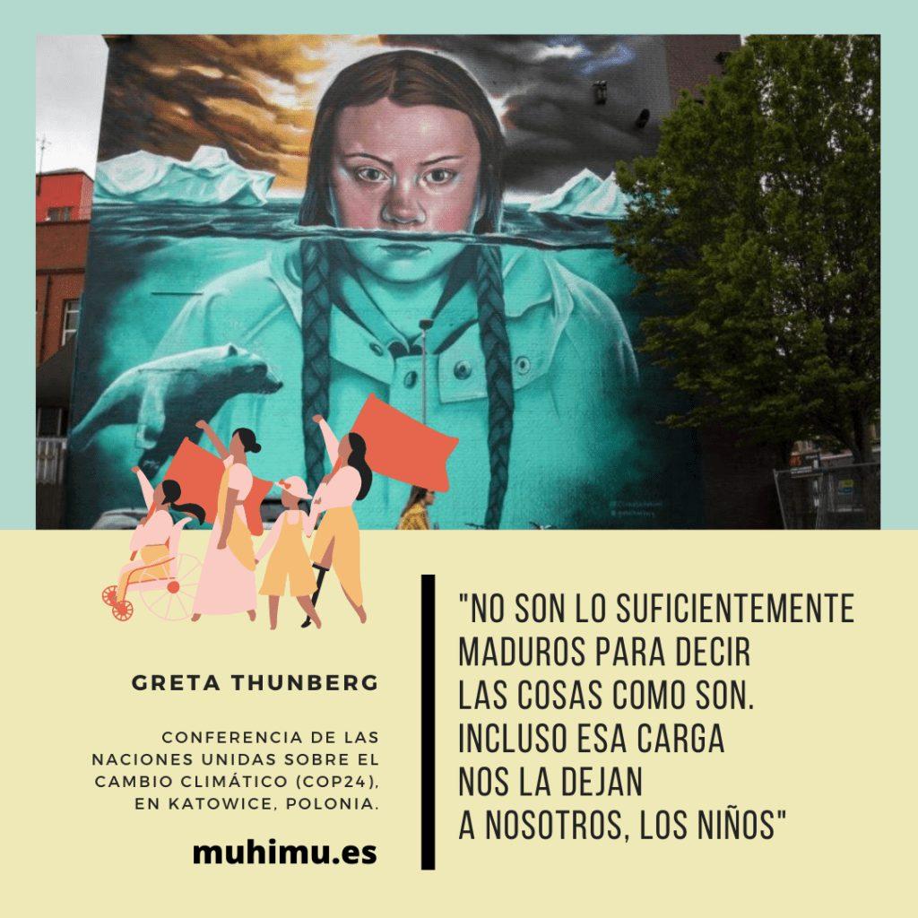 ¿Odiamos a Greta por decirnos la verdad? Te contamos el acoso mediático a todas las jóvenes activistas 26