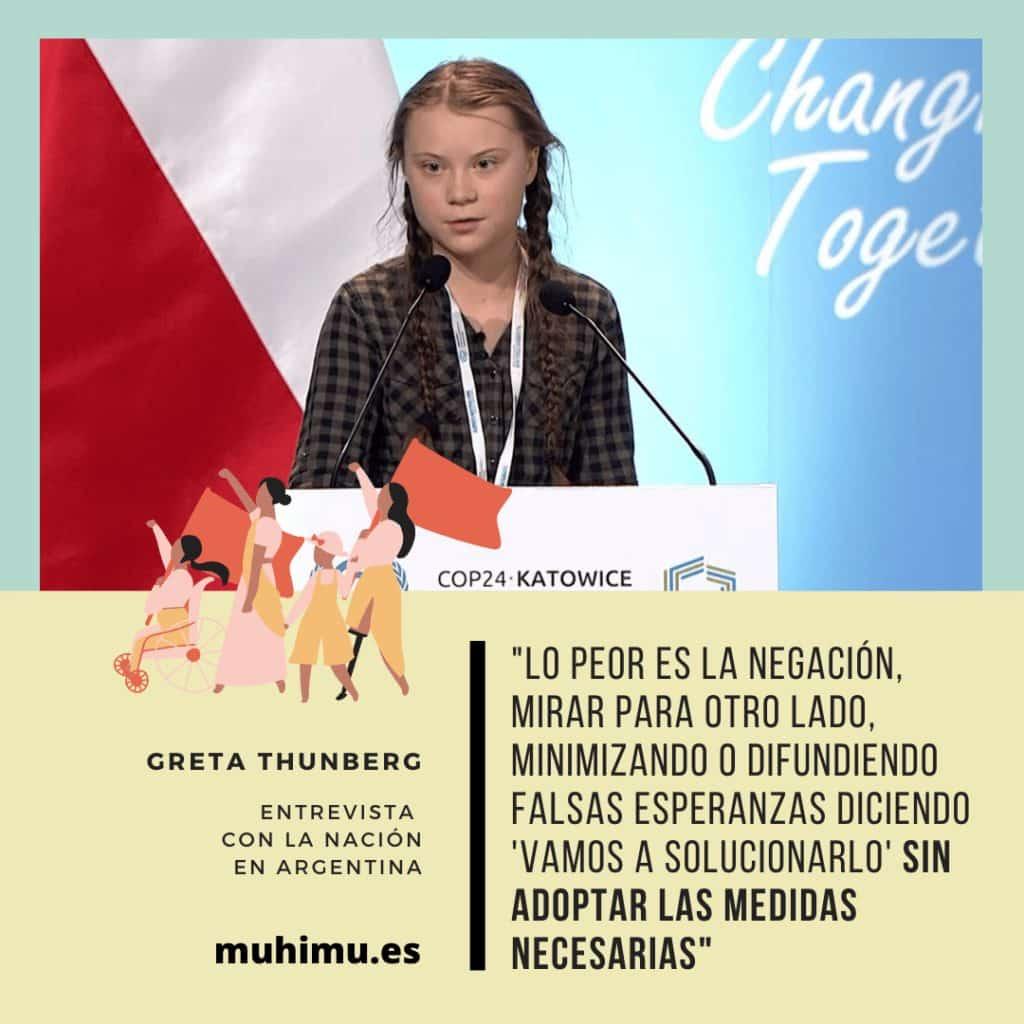 ¿Odiamos a Greta por decirnos la verdad? Te contamos el acoso mediático a todas las jóvenes activistas 30