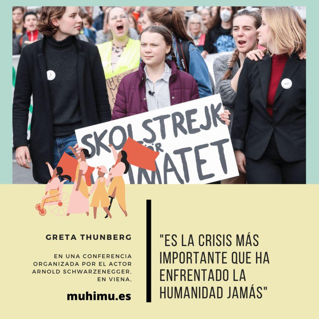 ¿Odiamos a Greta por decirnos la verdad? Te contamos el acoso mediático a todas las jóvenes activistas 24