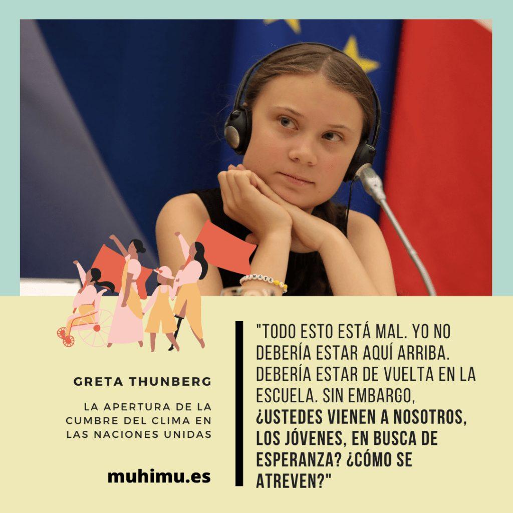 ¿Odiamos a Greta por decirnos la verdad? Te contamos el acoso mediático a todas las jóvenes activistas 21