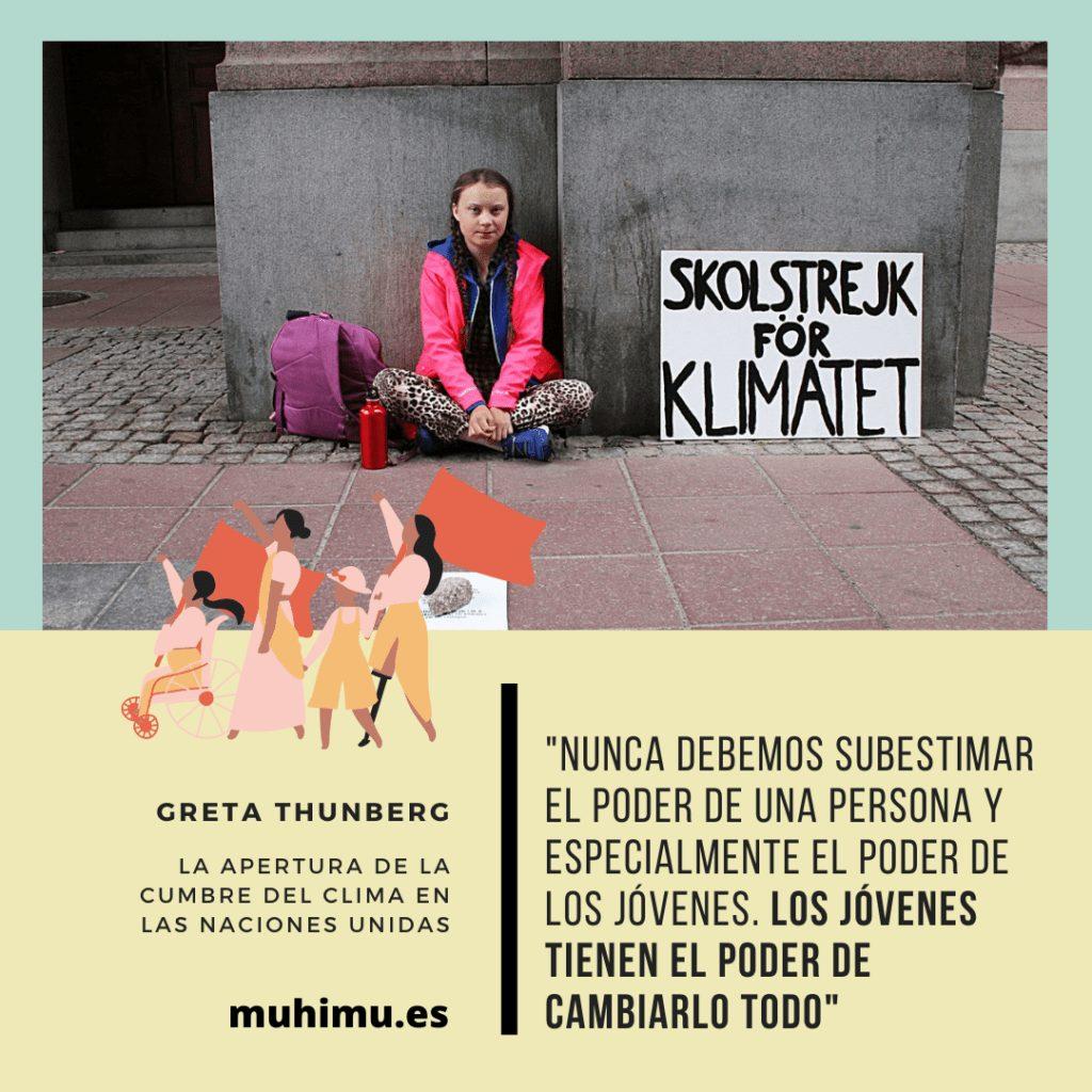 ¿Odiamos a Greta por decirnos la verdad? Te contamos el acoso mediático a todas las jóvenes activistas 28