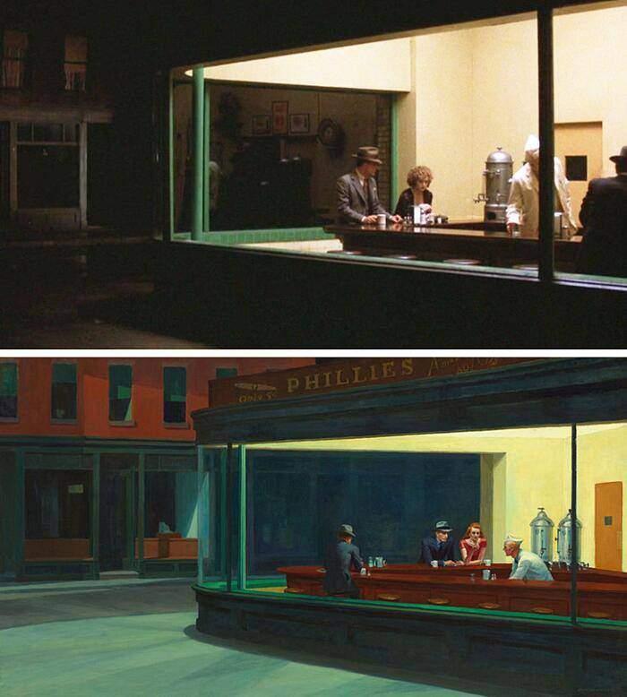 100 escenas de cine inspiradas en famosas obras de arte 45