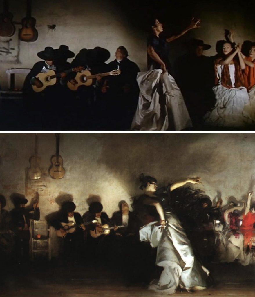 100 escenas de cine inspiradas en famosas obras de arte 18