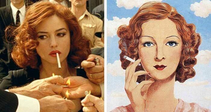 100 escenas de cine inspiradas en famosas obras de arte 8