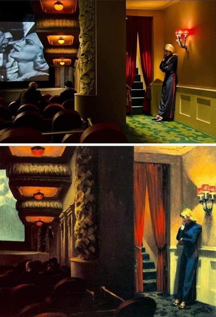 100 escenas de cine inspiradas en famosas obras de arte 9