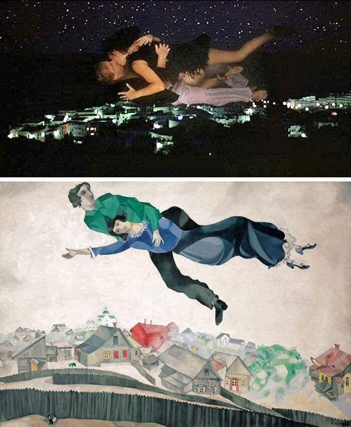 100 escenas de cine inspiradas en famosas obras de arte 10