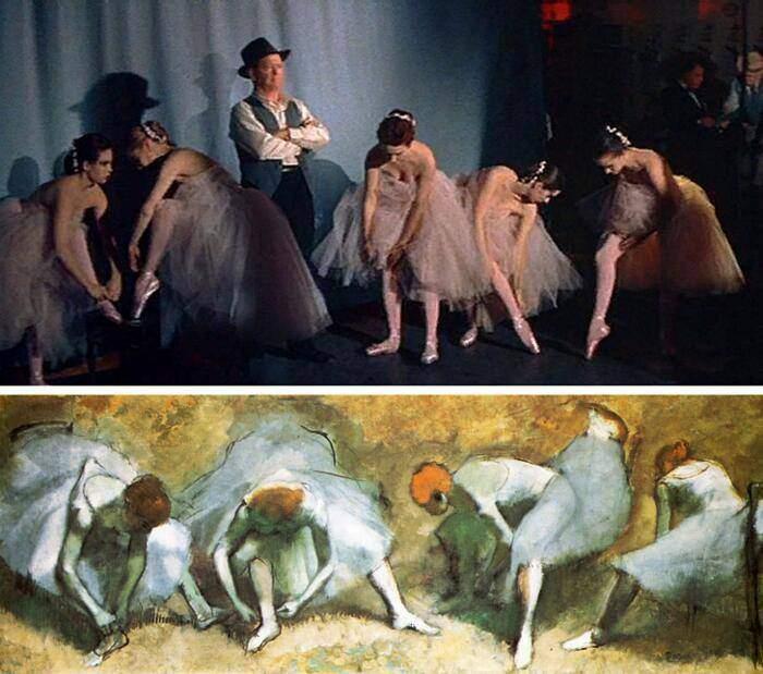 100 escenas de cine inspiradas en famosas obras de arte 12