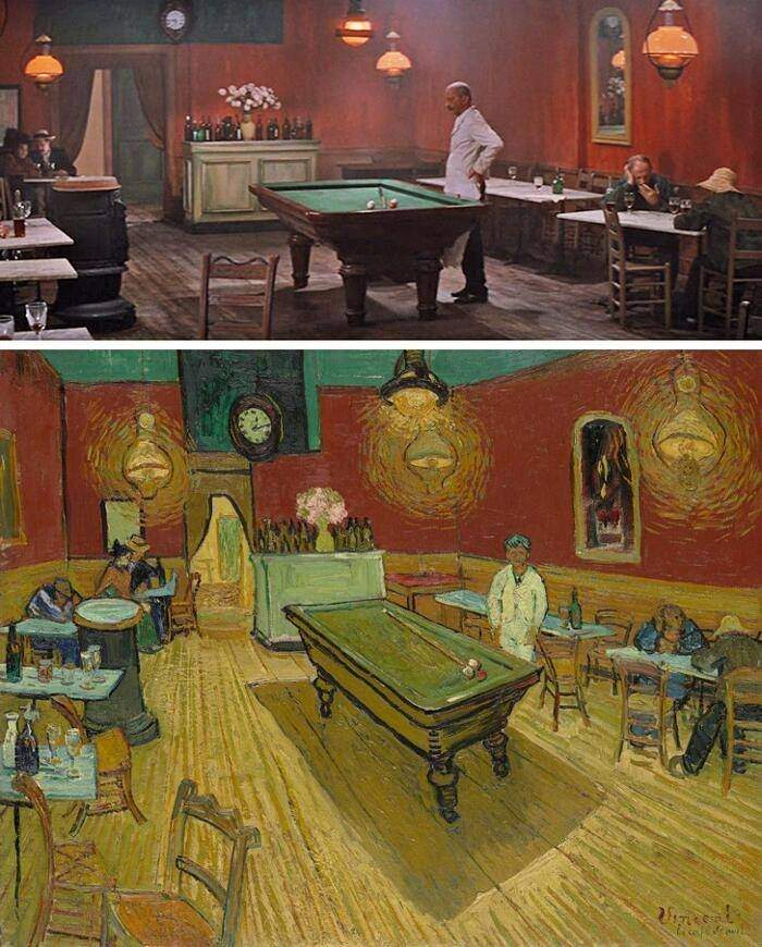 100 escenas de cine inspiradas en famosas obras de arte 11