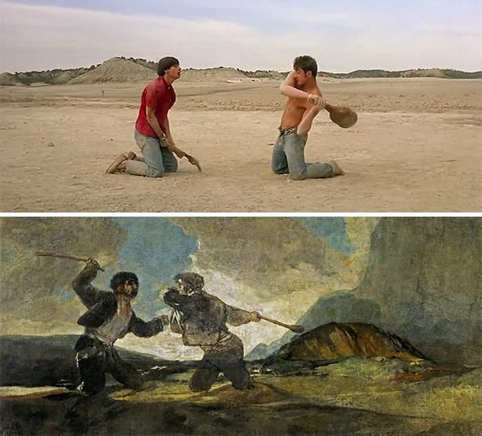 100 escenas de cine inspiradas en famosas obras de arte 33
