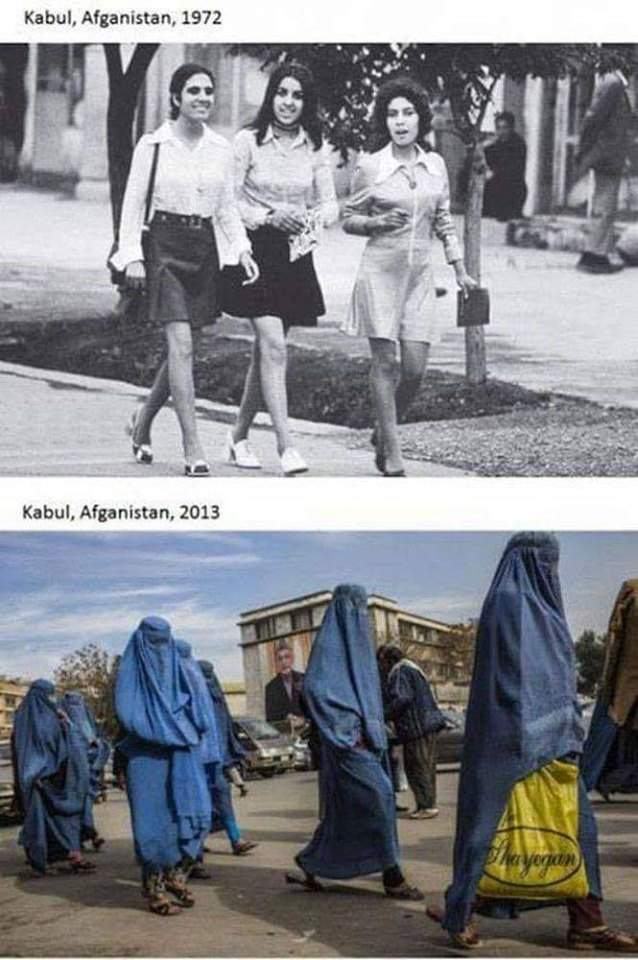 Así es Afganistán hoy. No te vas a creer cómo era este país hace 50 años 1