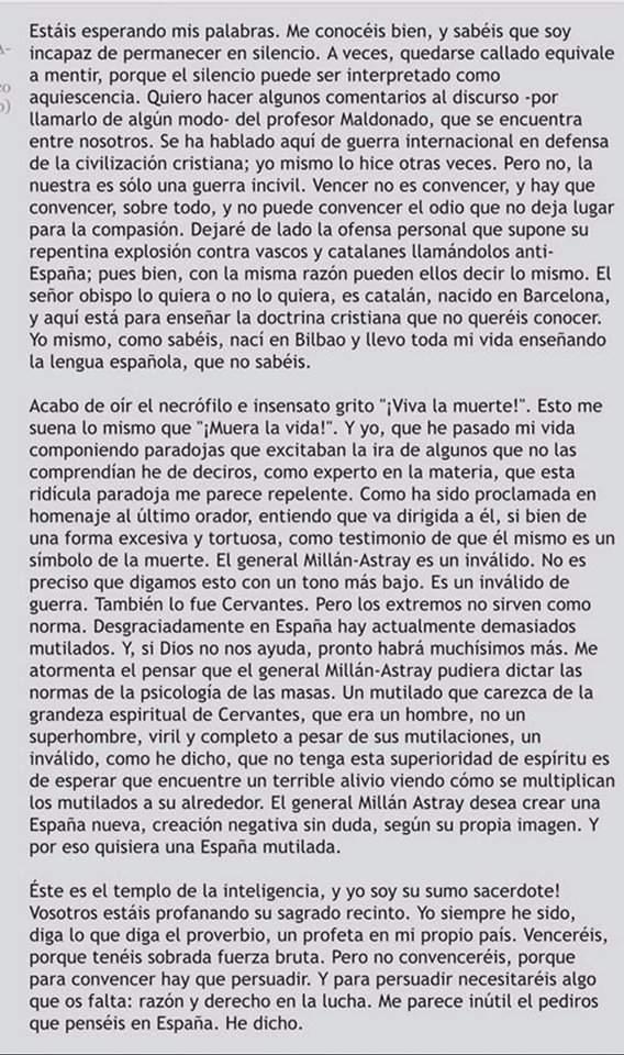 101 frases de Miguel de Unamuno sobre la fe, la verdad, la vida y la felicidad 1