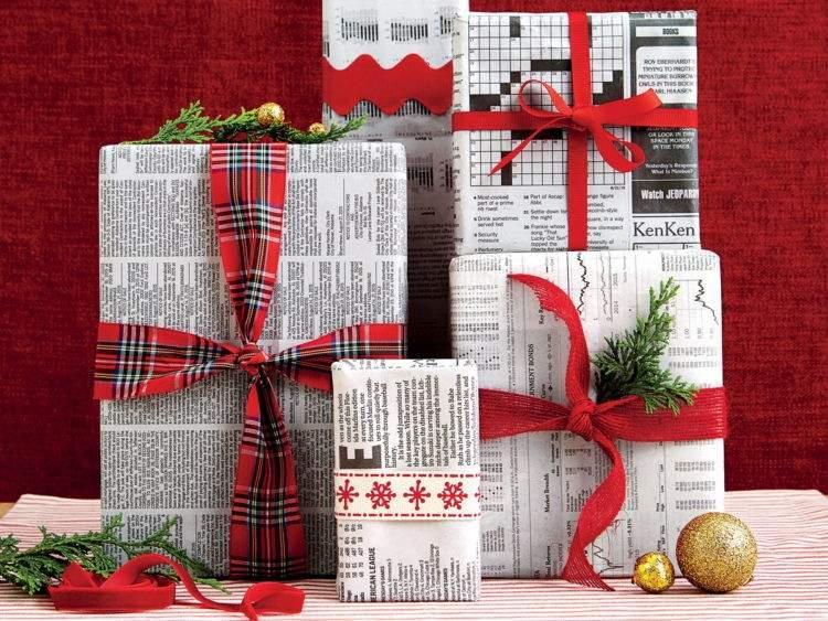 Ayúdanos a hacer viral esta idea ecológica: usar papel de periódico para envolver regalos esta Navidad 3