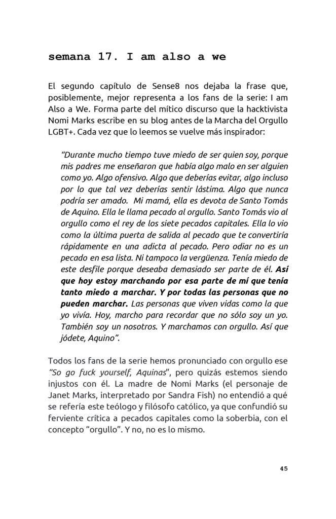Amor vincit omnia: la agenda de activismo para los fans de Sense8 7