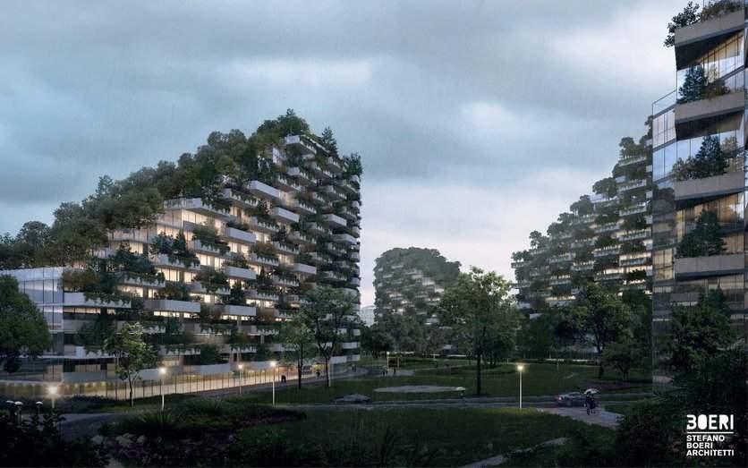 Diseñan la primera gran ciudad-bosque: producirá 900 toneladas anuales de aire limpio 4