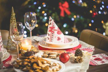 ¿En qué tiendas se suelen comprar productos para la mesa navideña? 5
