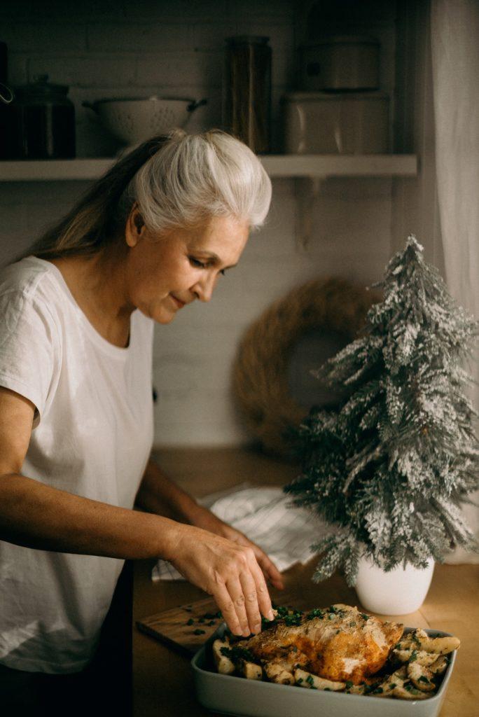 ¿En qué tiendas se suelen comprar productos para la mesa navideña? 3